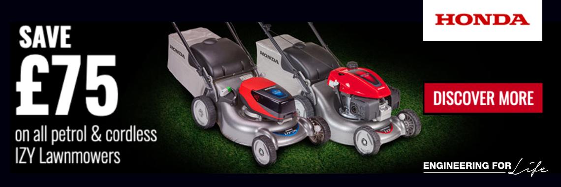 Honda IZY Petrol & Cordless Mowers