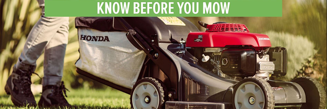 Honda Know Before your Mow